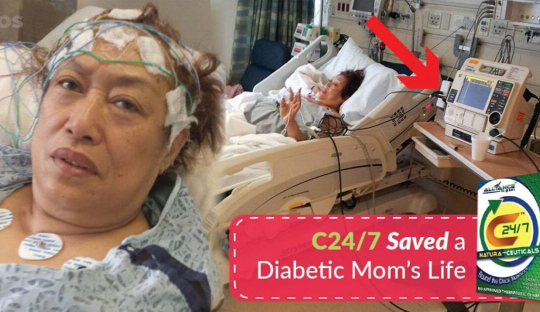 C24/7 Saved a Diabetic Mom's Life
