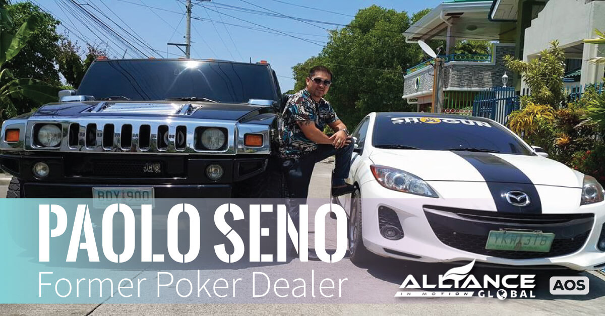 Paolo Seno Former Poker Dealer –  AIM Global Success Story